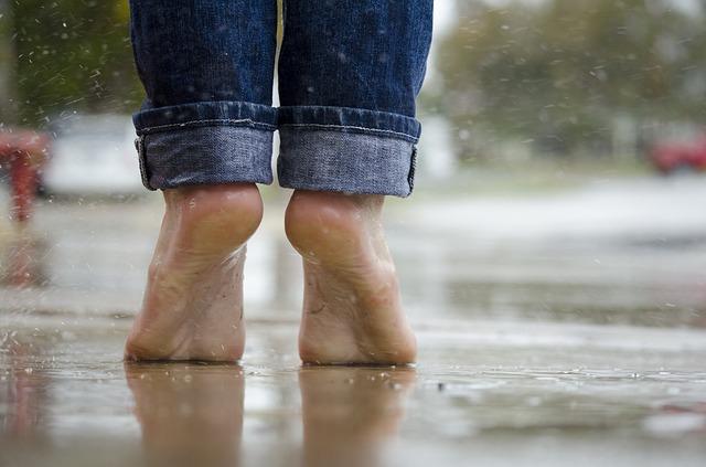 Der Tänzer Fuß